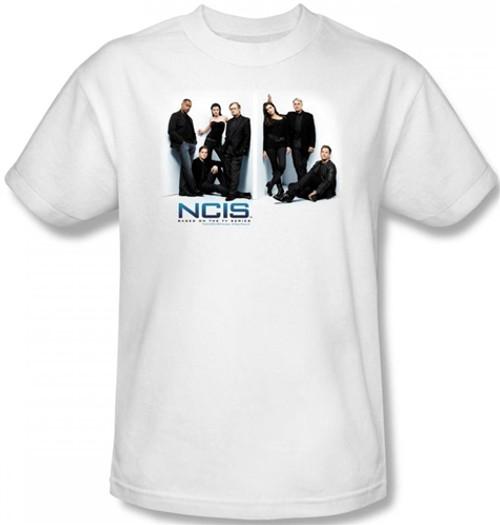 Image Closeup for NCIS White Room T-Shirt