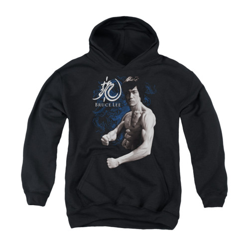 Image for Bruce Lee Youth Hoodie - Dragon Stance