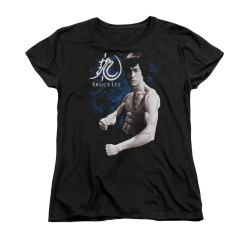 Image for Bruce Lee Woman's T-Shirt - Dragon Stance