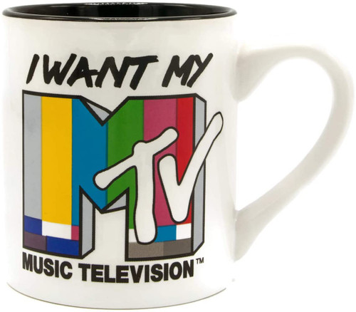 Image for I Want My MTV Color Test Coffee Mug