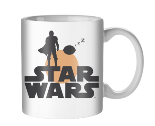 Image for The Mandalorian Sunset Duo Coffee Mug