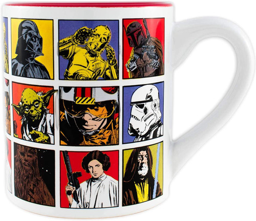 Image for Star Wars Grid Coffee Mug