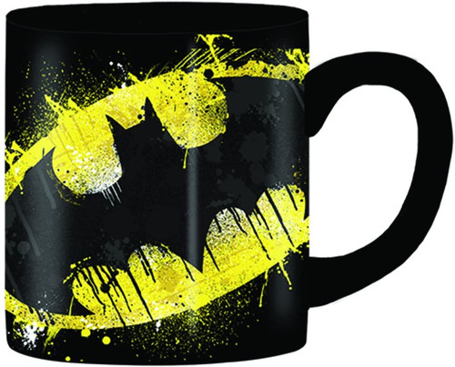 Image for Batman Splatter Logo Coffee Mug