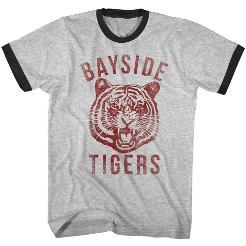 Image for Saved by the Bell - Bayside Ringer T-Shirt