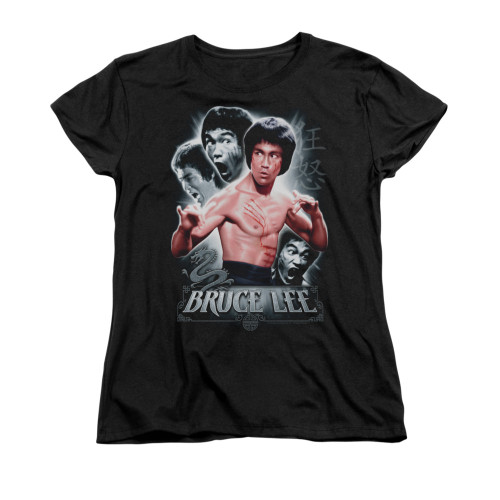 Image for Bruce Lee Woman's T-Shirt - Inner Fury