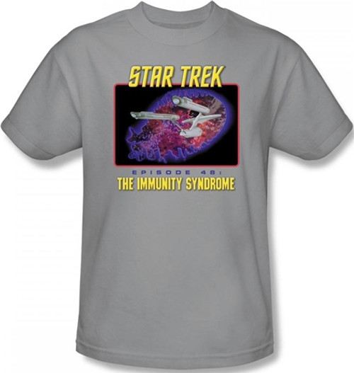 Image Closeup for Star Trek Episode T-Shirt - Episode 48 The Immunity Syndrome