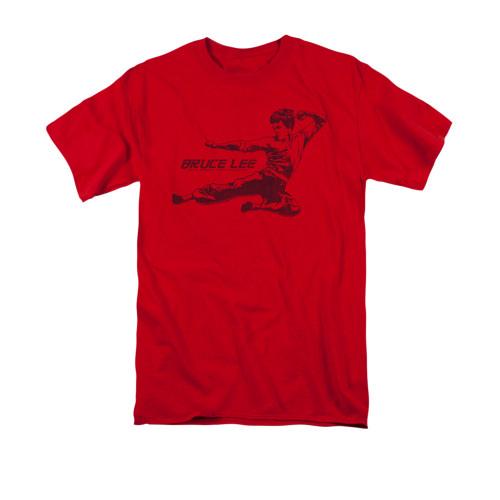 Image for Bruce Lee T-Shirt - Line Kick