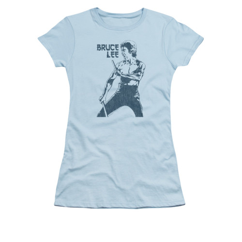 Image for Bruce Lee Girls T-Shirt - Fighter
