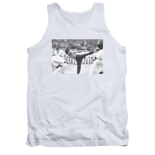 Image for Bruce Lee Tank Top - Kick to the Head