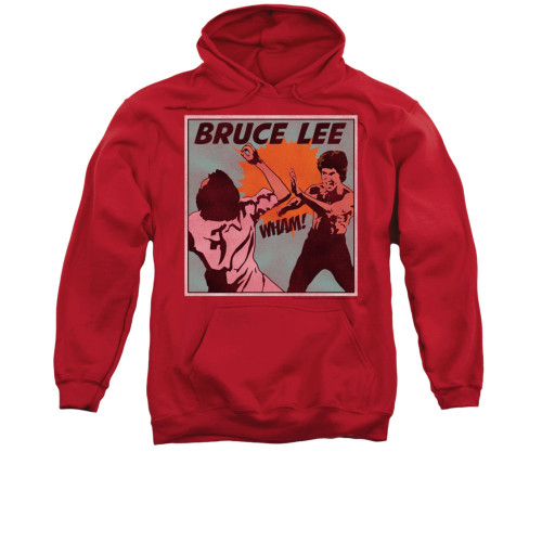 Image for Bruce Lee Hoodie - Comic Panel