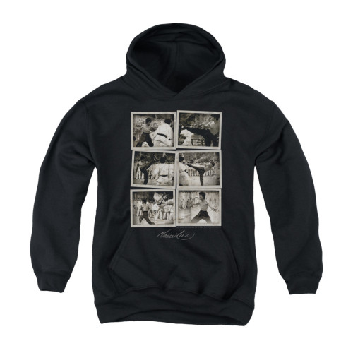 Image for Bruce Lee Youth Hoodie - Snap Shots