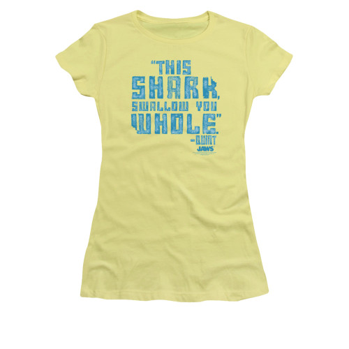 Image for Jaws Girls T-Shirt - Swallow You Whole