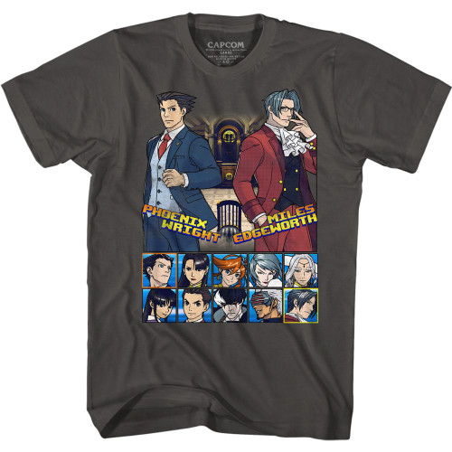 Image for Ace Attorney T-Shirt - Choose Your Fighter