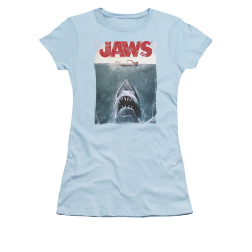 Image for Jaws Girls T-Shirt - Title