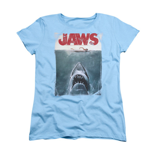 Image for Jaws Woman's T-Shirt - Title