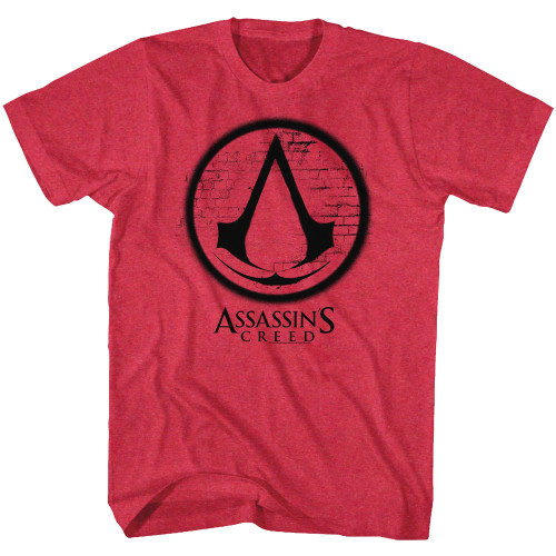 Image for Assassin's Creed Heather T-Shirt - Logos