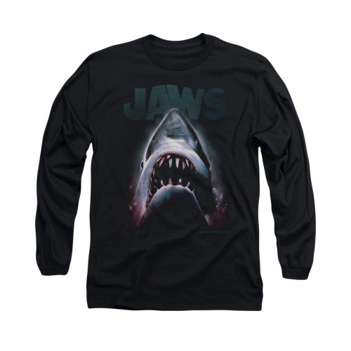 Image for Jaws Long Sleeve T-Shirt - Terror in the Deep