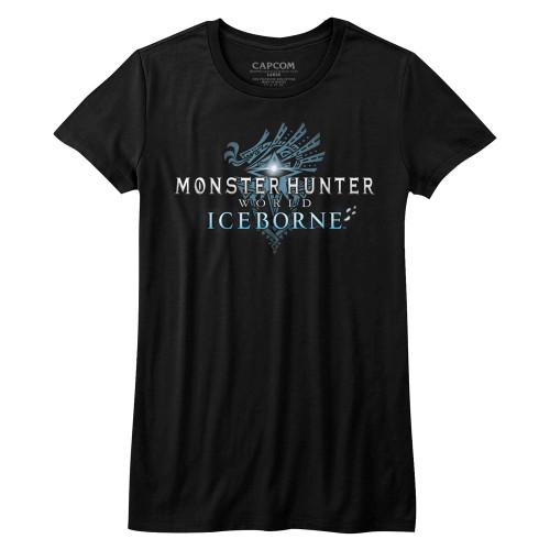 Image for Monster Hunter Girls T-Shirt - Iceborn Logo
