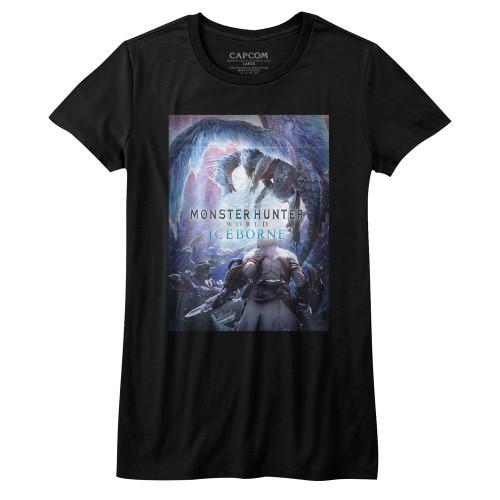Image for Monster Hunter Girls T-Shirt - Iceborn Keyart