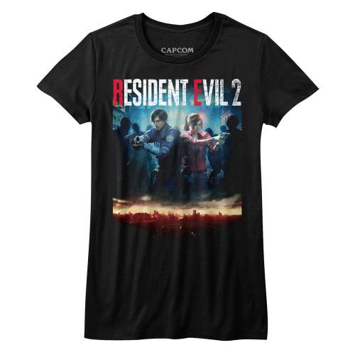 Image for Resident Evil Girls T-Shirt - RE2Make Cover
