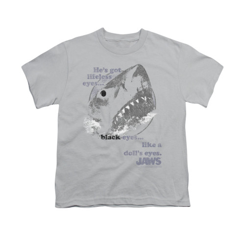 Image for Jaws Youth T-Shirt - like a doll's eyes