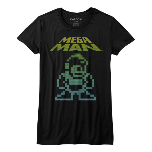 Image for Mega Man Girls T-Shirt - Mega Pixel