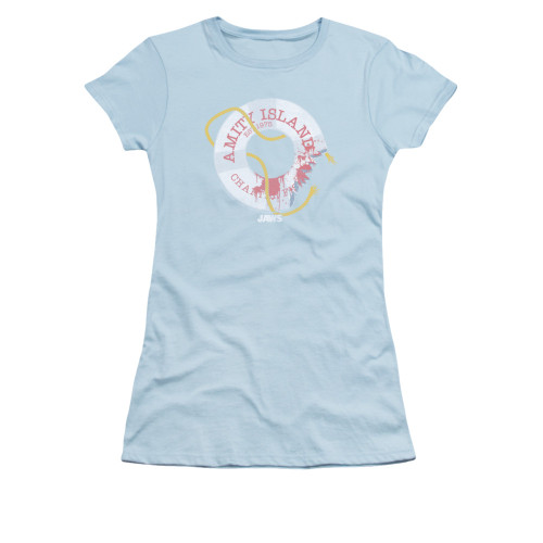 Image for Jaws Girls T-Shirt - Life Preserver