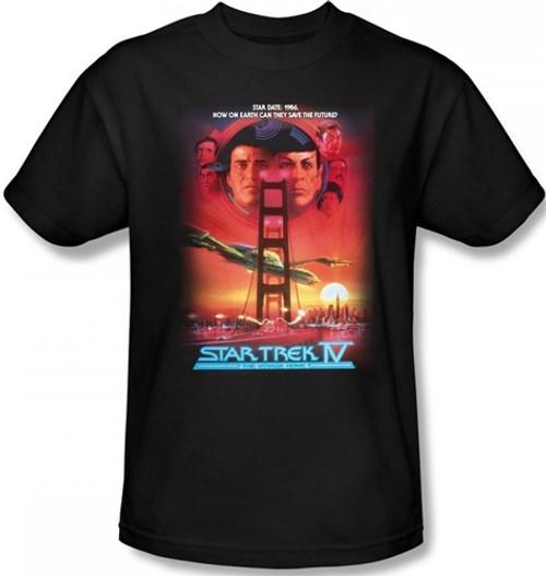 Image Closeup for Star Trek Movie T-Shirt - IV the Voyage Home