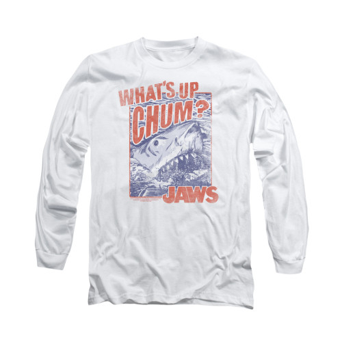 Image for Jaws Long Sleeve T-Shirt - Chum