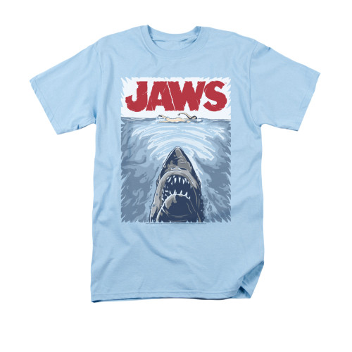 Image for Jaws T-Shirt - Graphic Poster