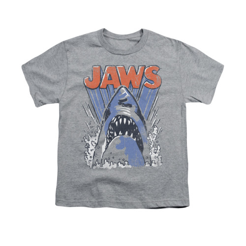 Image for Jaws Youth T-Shirt - Comic Splash