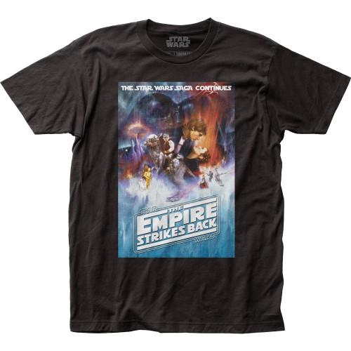 Image for Star Wars T-Shirt - ESB Poster