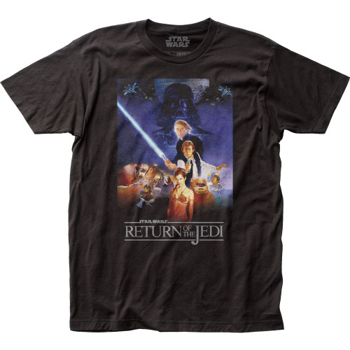 Image for Star Wars T-Shirt - ROTJ Poster