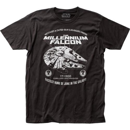 Image for Star Wars T-Shirt - Millenium Falcon