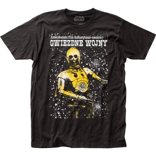 Image for Star Wars T-Shirt - Polish Poster