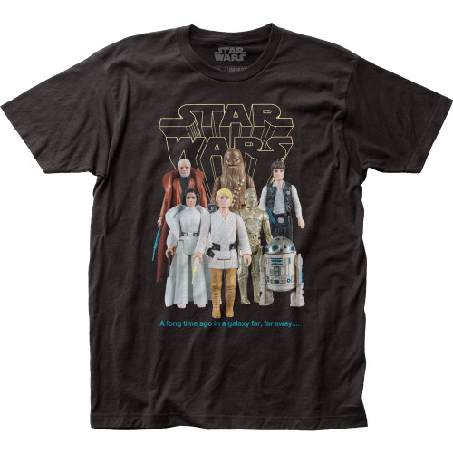 Image for Star Wars T-Shirt - Good Guys Action Figures