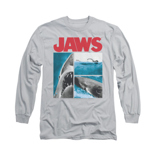 Image for Jaws Long Sleeve T-Shirt - Instajaws