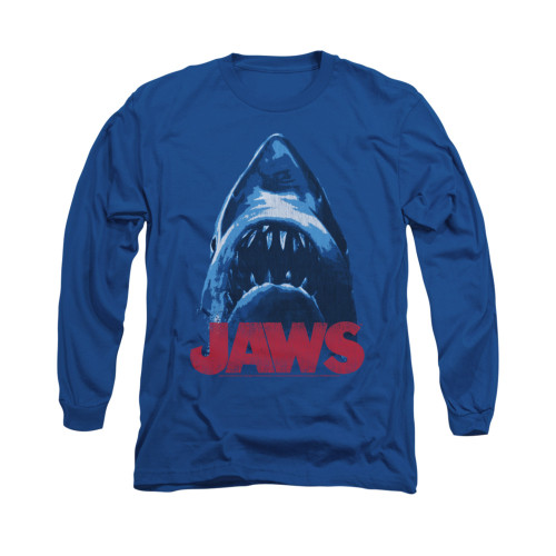 Image for Jaws Long Sleeve T-Shirt - From Below