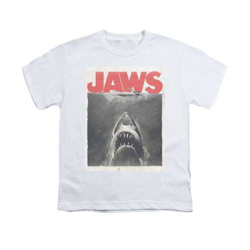 Image for Jaws Youth T-Shirt - Classic Fear