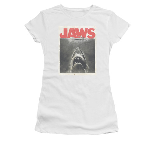 Image for Jaws Girls T-Shirt - Classic Fear