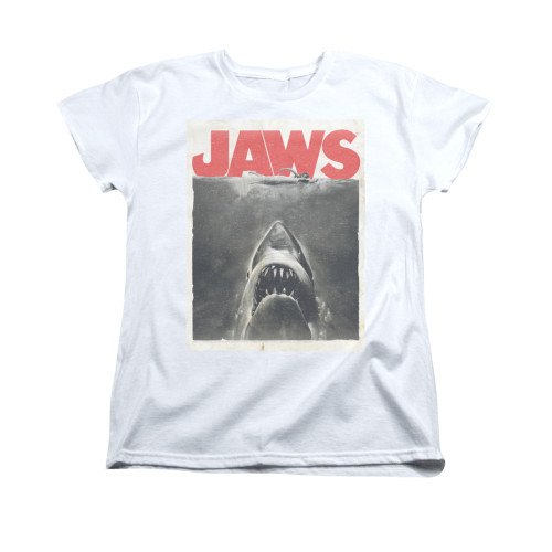 Image for Jaws Woman's T-Shirt - Classic Fear