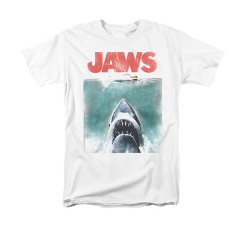 Jaws T-Shirt - Vintage Poster