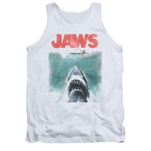 Jaws Tank Top - Vintage Poster