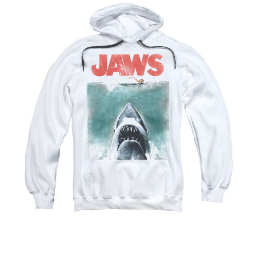 Image for Jaws Hoodie - Vintage Poster