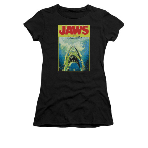 Image for Jaws Girls T-Shirt - Bright Jaws