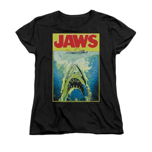 Jaws Woman's T-Shirt - Bright Jaws