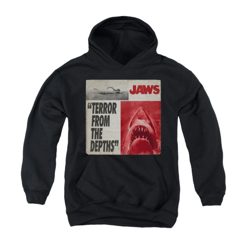 Image for Jaws Youth Hoodie - Terror
