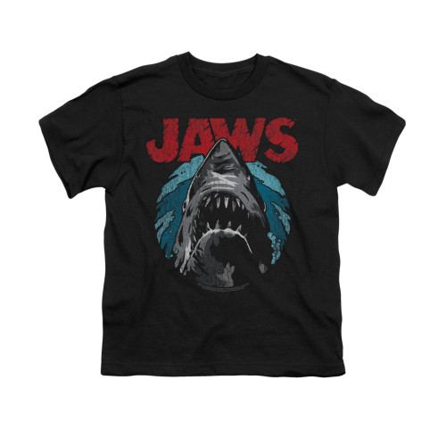 Image for Jaws Youth T-Shirt - Water Circle