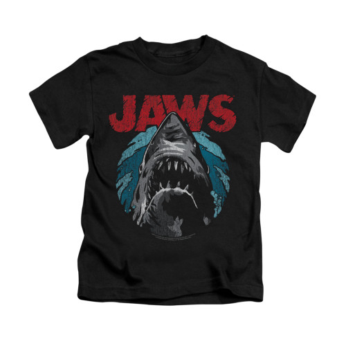 Image for Jaws Kids T-Shirt - Water Circle