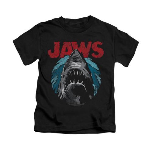 Image for Jaws Kids T-Shirt - Water Circle